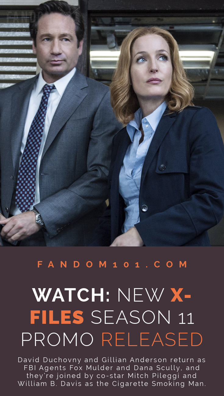 Watch - New X-files Season 11 Promo Released