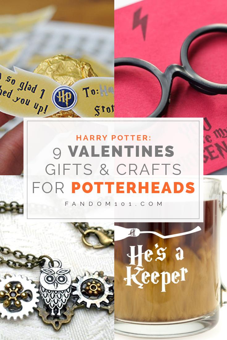 Harry Potter 9 Valentines Gifts Crafts For Potterheads Fandom