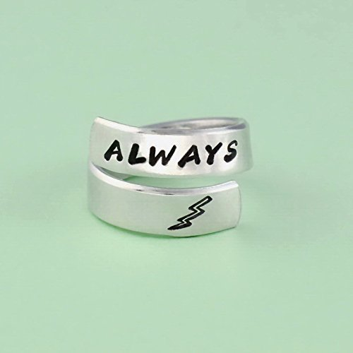 $9.99 | Always Hand-Stamped Harry Potter Ring
