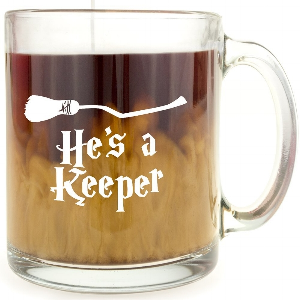 $10 | Harry Potter He's a Keeper Mug - Valentines Gift for Him
