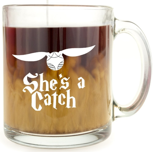 $10 | Harry Potter She's a Catch Mug - Valentines Gift for Her