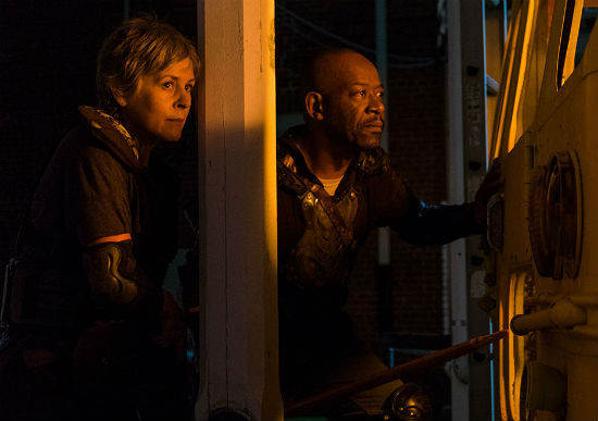 The Walking Dead Season 8 Episode 9 Carol and Morgan