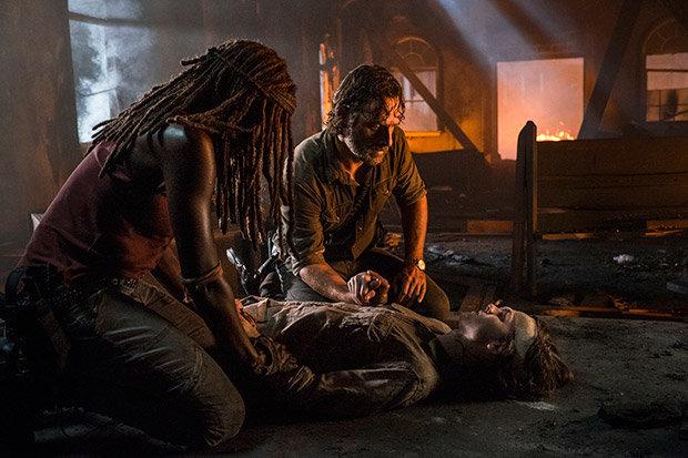 The Walking Dead Season 8 Episode 9 Carl Death