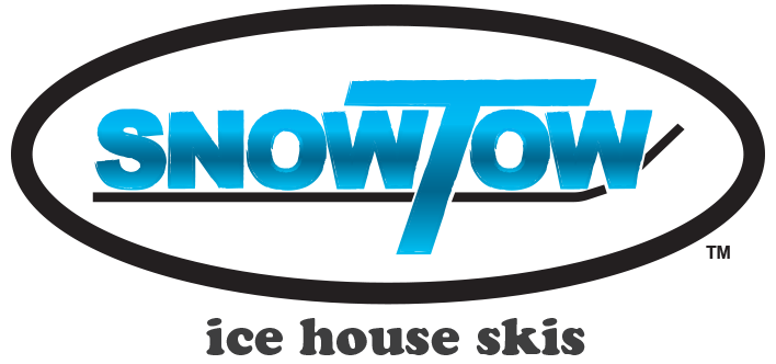 Snow Tow Ice House Skis - Fish House Shack Skis