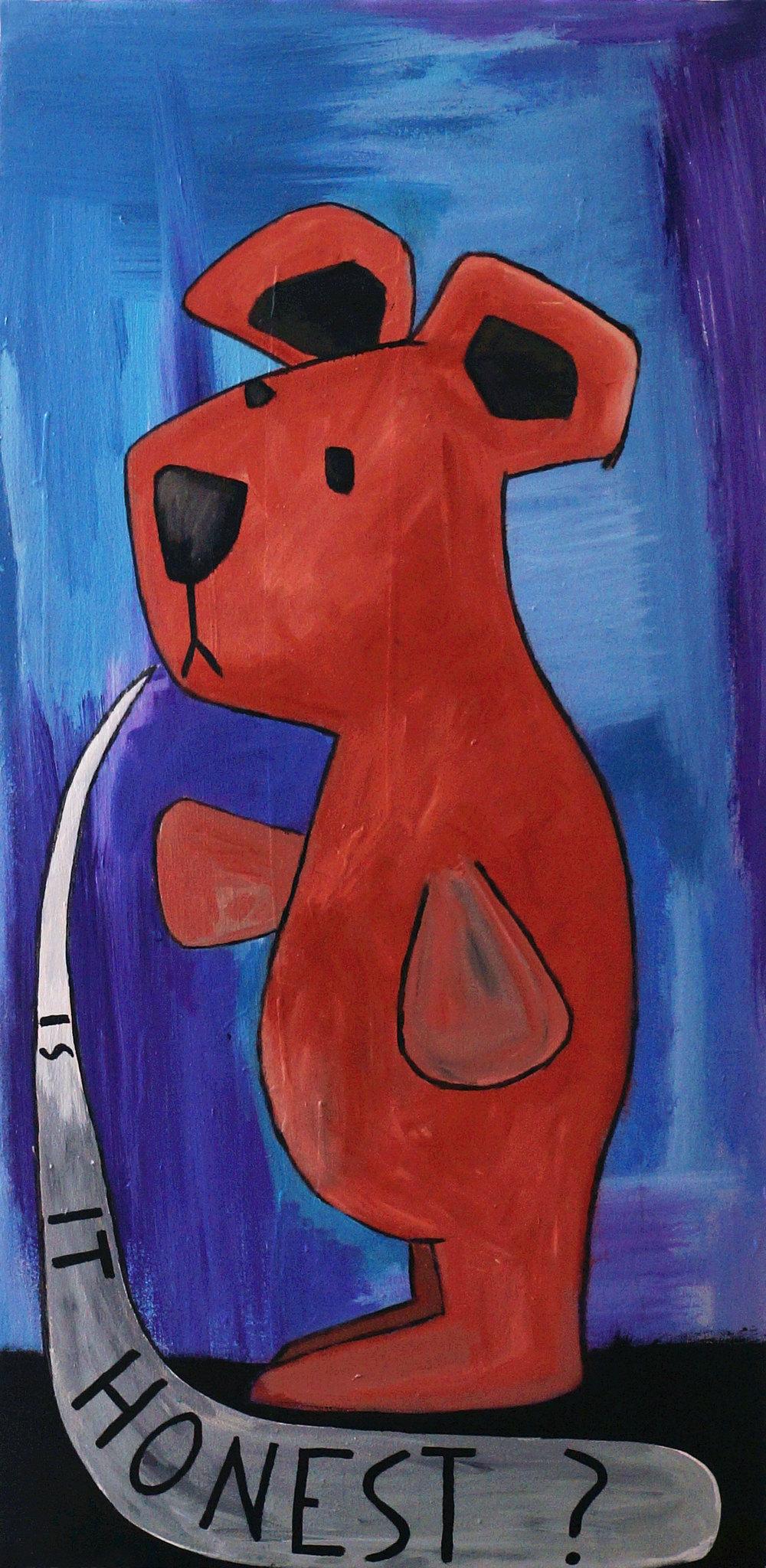 """honest bear"""