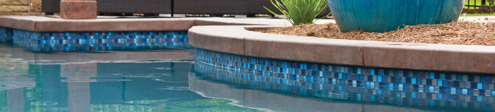 The Coping Will Be Hand Laid And Grouted On The Bond Beam Of Your Inground Swimming  Pool By The Same Craftsmen That Set The Tile.