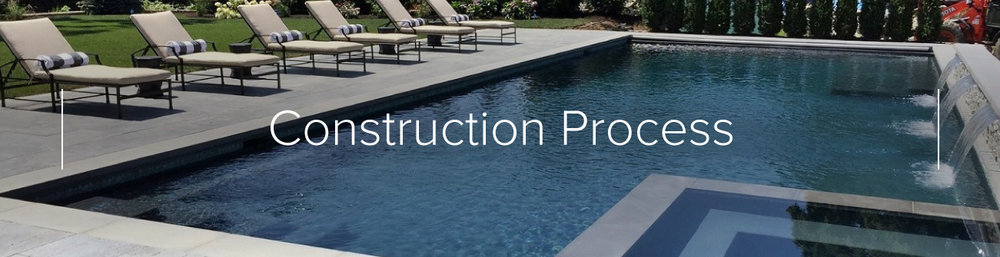 construction swimming pool construction pool installation gunite
