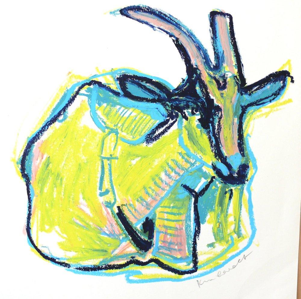 neon goat