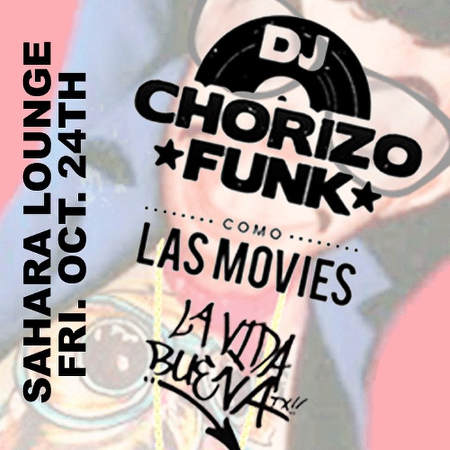 You can find us at Sahara Lounge. We've teamed up with @comolasmovies and @chorizofunk to bring you an amazing #indie #latin #Austin showcase October 24th!