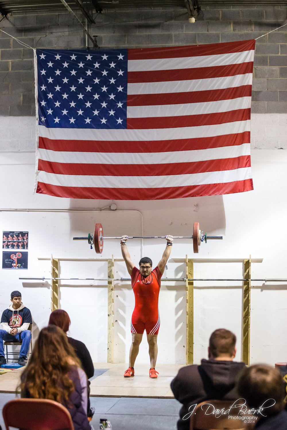 Imran competing in the 2014 NOVA Open at NOVA Strength and Conditioning.