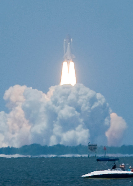 Launch of Atlantis on May 14, 2010.