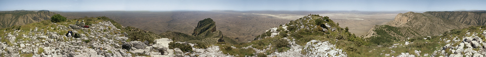 Guadalupe Peak, highpoint of Texas.