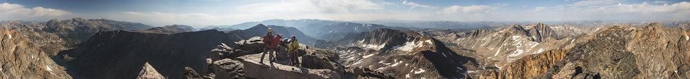 Granite Peak, highpoint of Montana. 2016.
