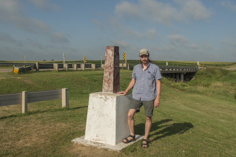 At the tri-point of Iowa, Minnesota, and South Dakota