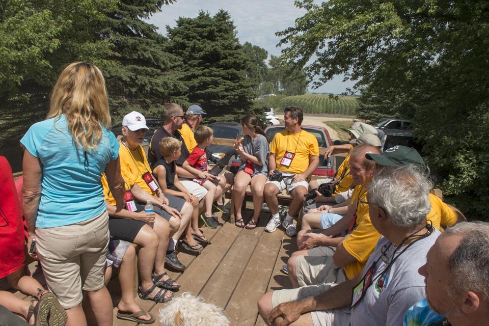 Wagon rides at Hawkeye Point
