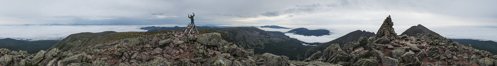 Mount Katahdin, Highpoint Of Maine. If At First You Don't Succeed... - @James Suits