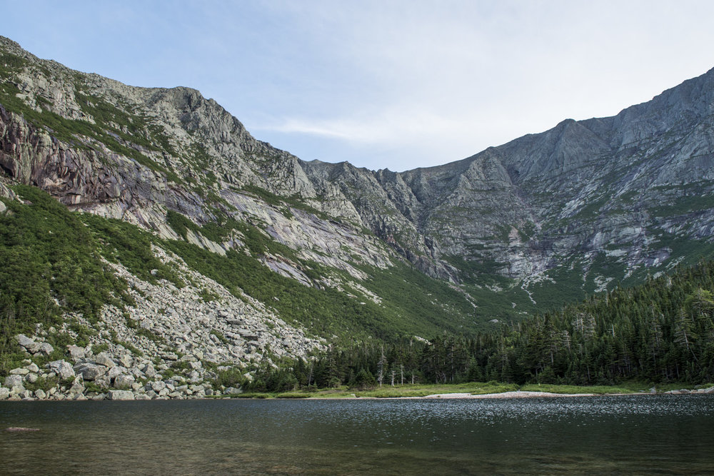 Katahdin from Chimney Pond
