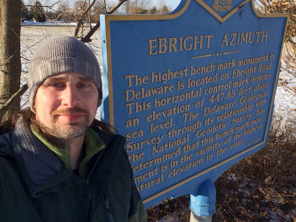 New Year's Day on Ebright Azimuth. I wonder if I was the first highpoint of the year?