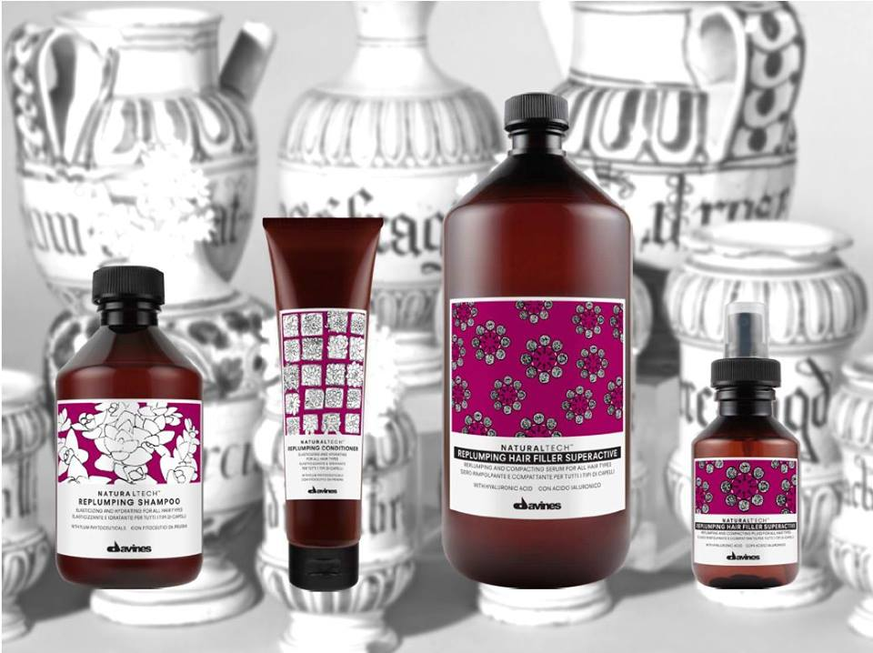 New Davines Replumping Line
