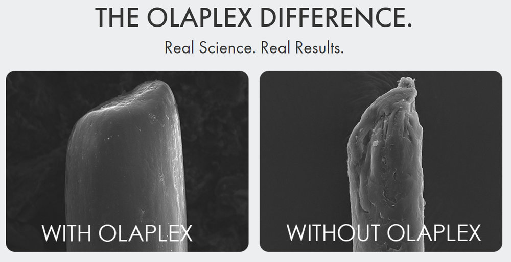 Go to olaplex.com for more info, or simply type a Google search to learn more, or send me an email.