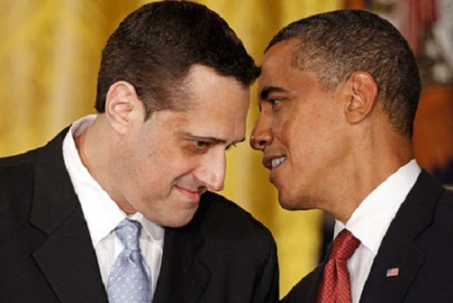 Activist Stuart Milk accepts the 2009 Presidential Medal of Freedom from President Barack Obama on behalf of his uncle, Harvey Milk. (Source)