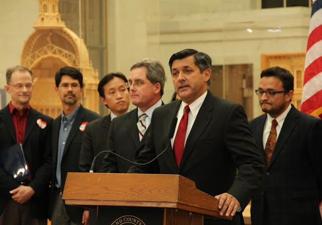 Treasurer José Cisneros is San Francisco's highest out LGBTQ citywide elected official. ( Source )