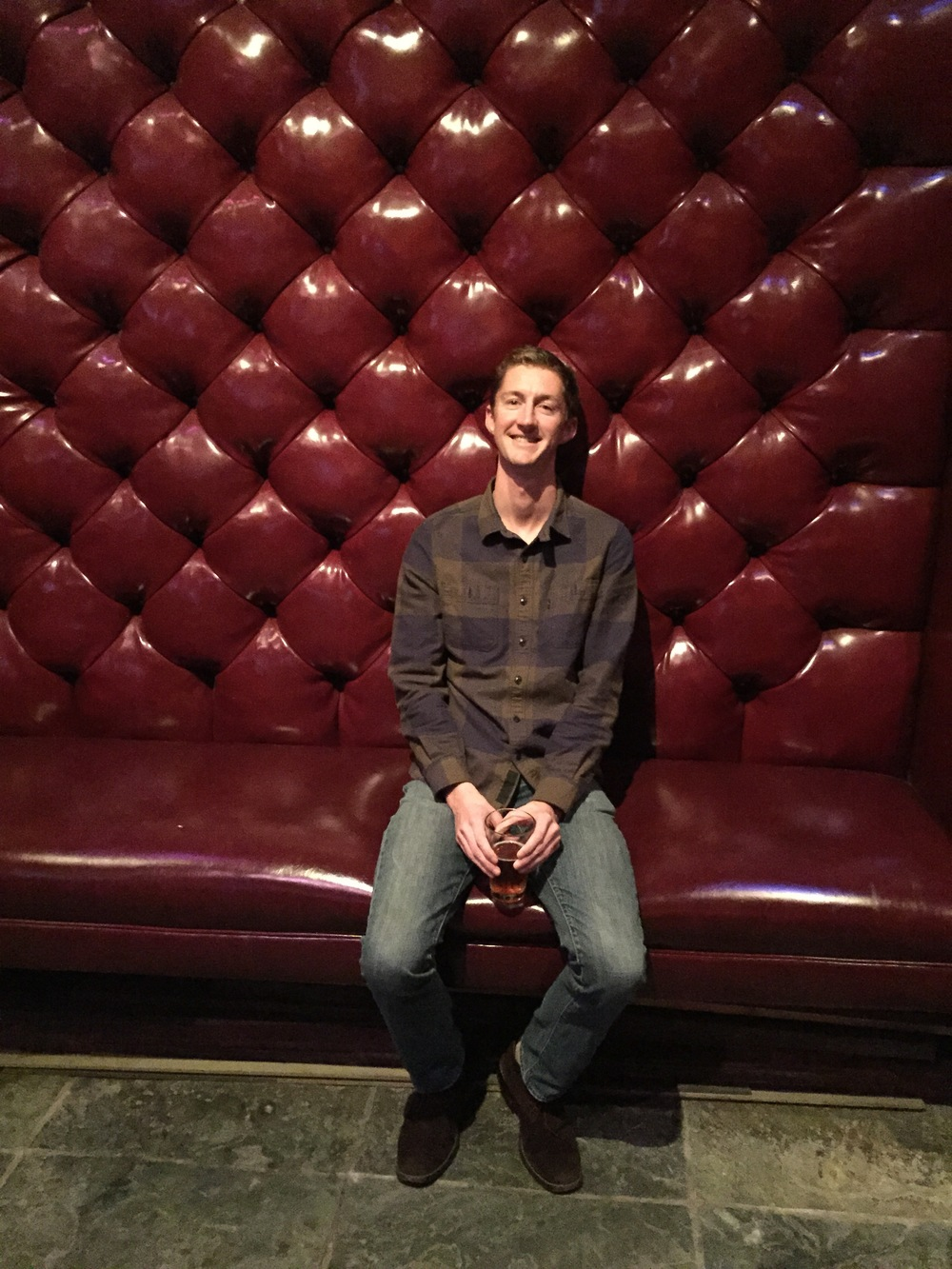 Tommy Red Couch.JPG