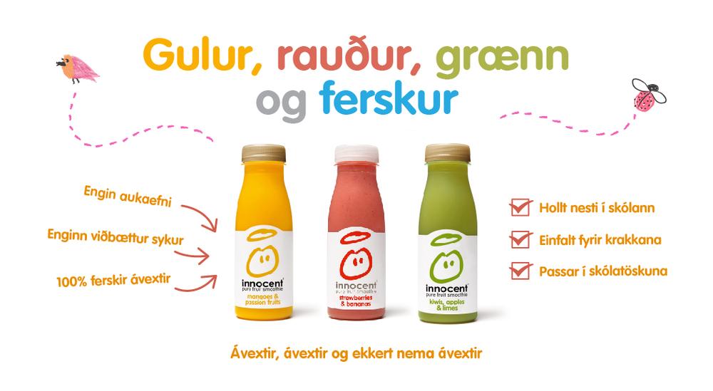 Innocent - Gulur rauður grænn og ferskur.jpg