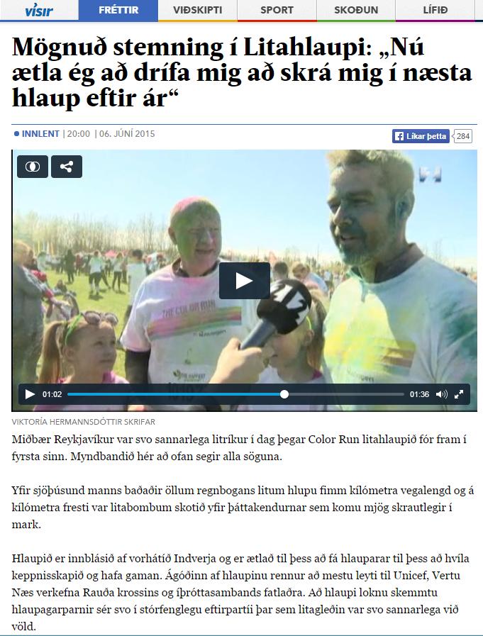 visir stöð2 Mögnuð stemning í litahlaupi.PNG