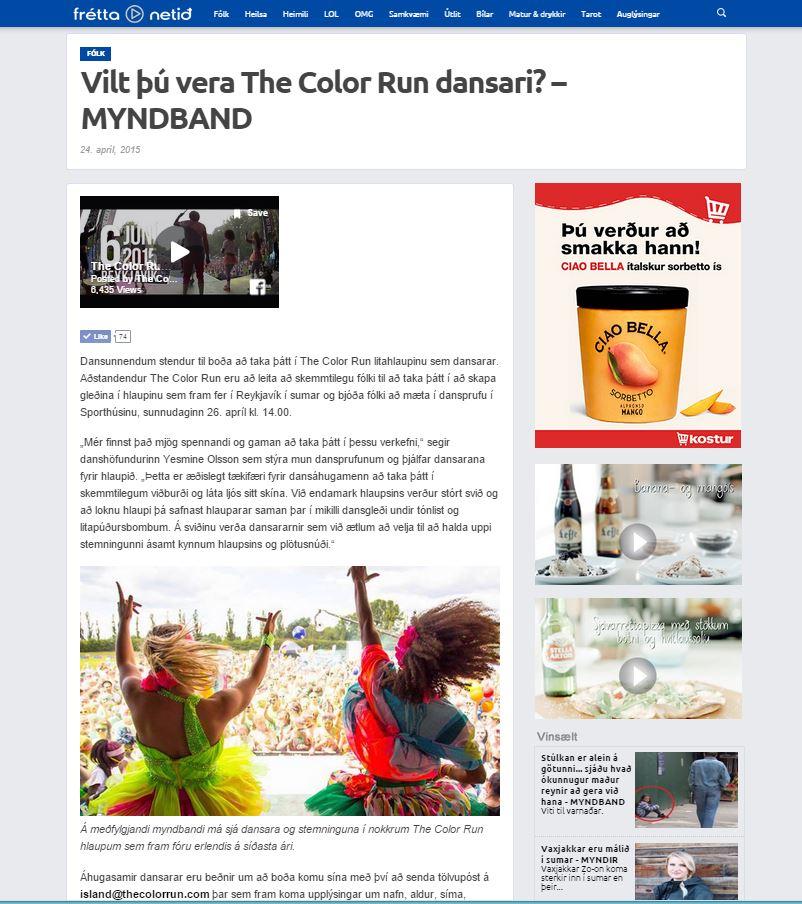 frettanetid Vilt þú verða The Color Run dansari.JPG