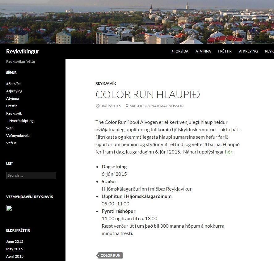 reykvikingur The Color Run hlaupið.JPG