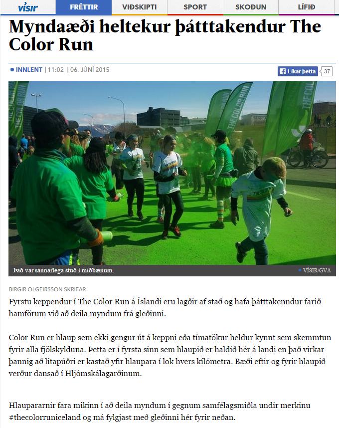 visir myndaæði heltekur þátttakendur í The Color Run.PNG