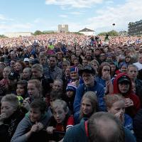 Heimkomuhátíð á Arnarhóli   Móttaka landsliðsmanna eftir frækilegan árangur á EM2016.