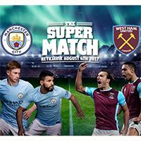 Manchester City - West Ham   PR og viðburðarstjórnun The Super Match á Laugardalsvelli.
