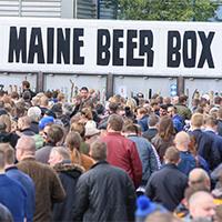 Bjórfestival í Sundahöfn   Skipulagning, viðburðar- og markaðsstjórnun fyrir Maine Beer Box bjórhátíðina.