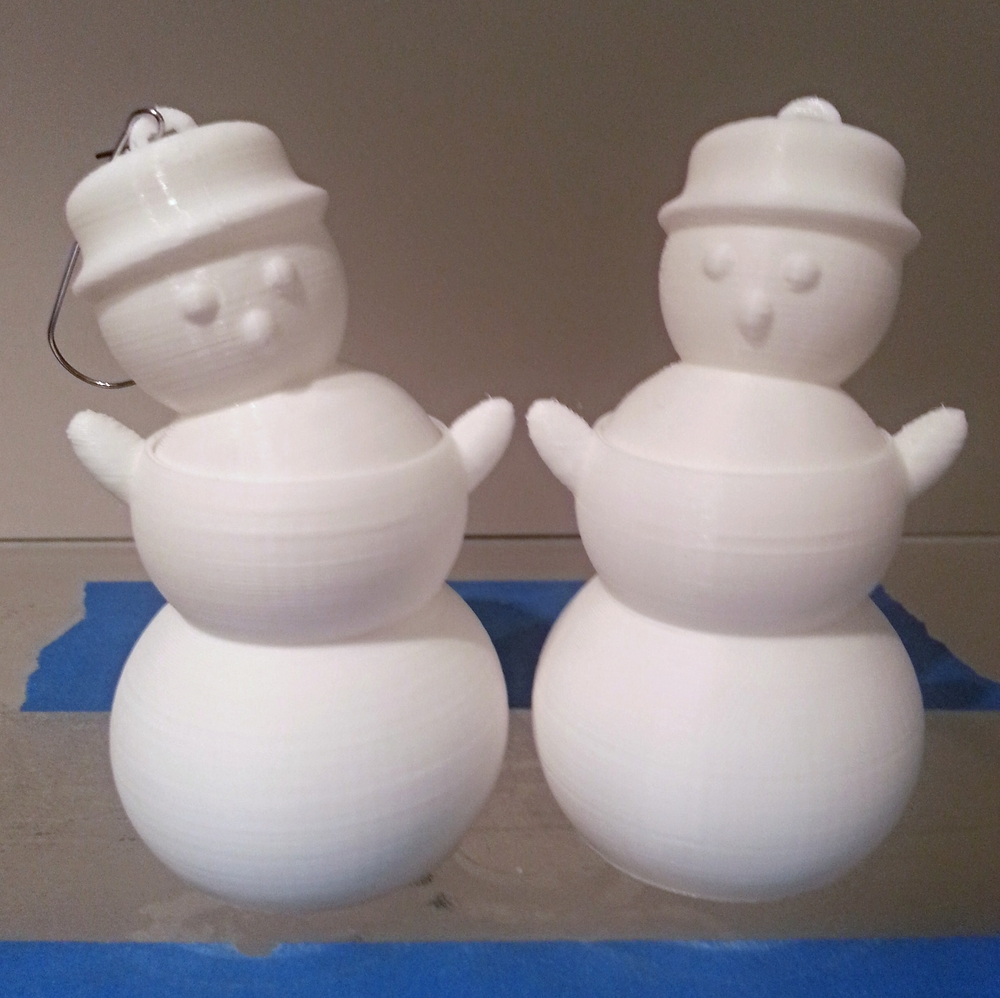 Dancing Snowman Ornaments