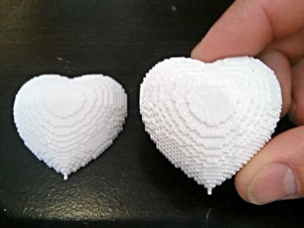 Printer: MakerGear M2 - 0.2mm layers - White PLA