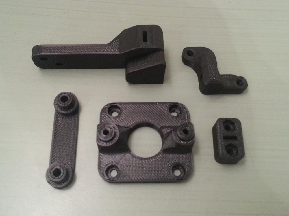 Timing Belt Y GT2 Printer: MakerGear M2 - 0.2mm layers - Black ABS
