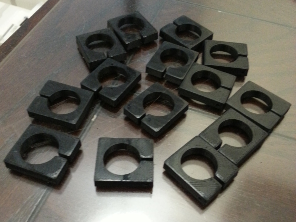 Printer: MakerGear M2 - 0.2mm layers - Black ABS