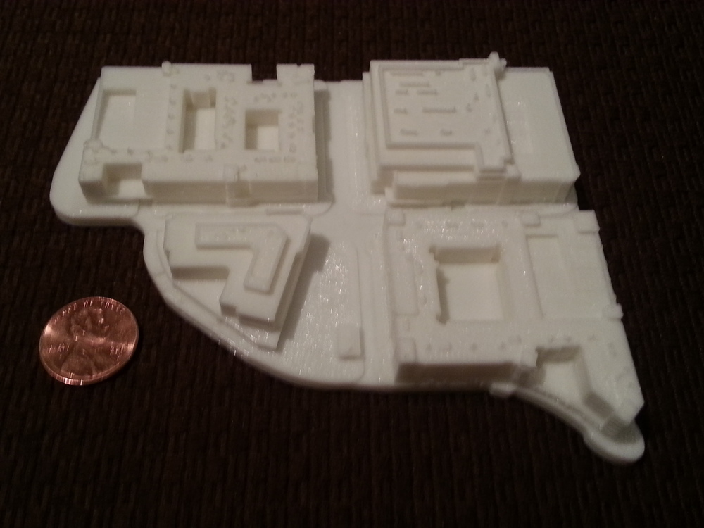 Printer: MakerGear M2, 0.15mm layers