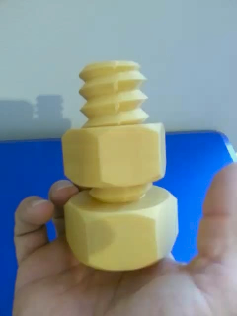 Large Screw & Nut