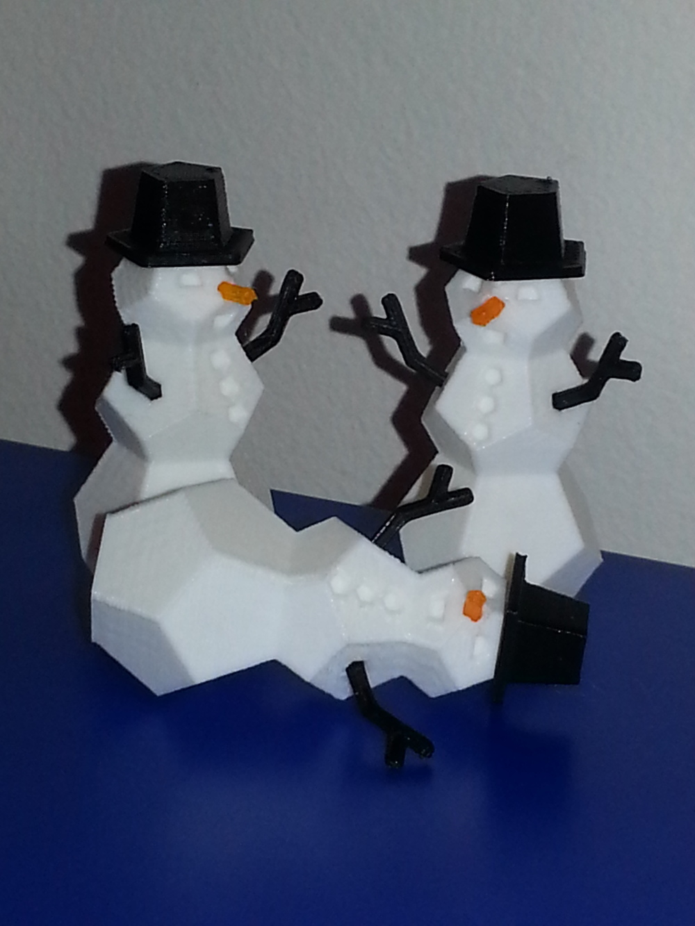 Small Snowmen Ornaments