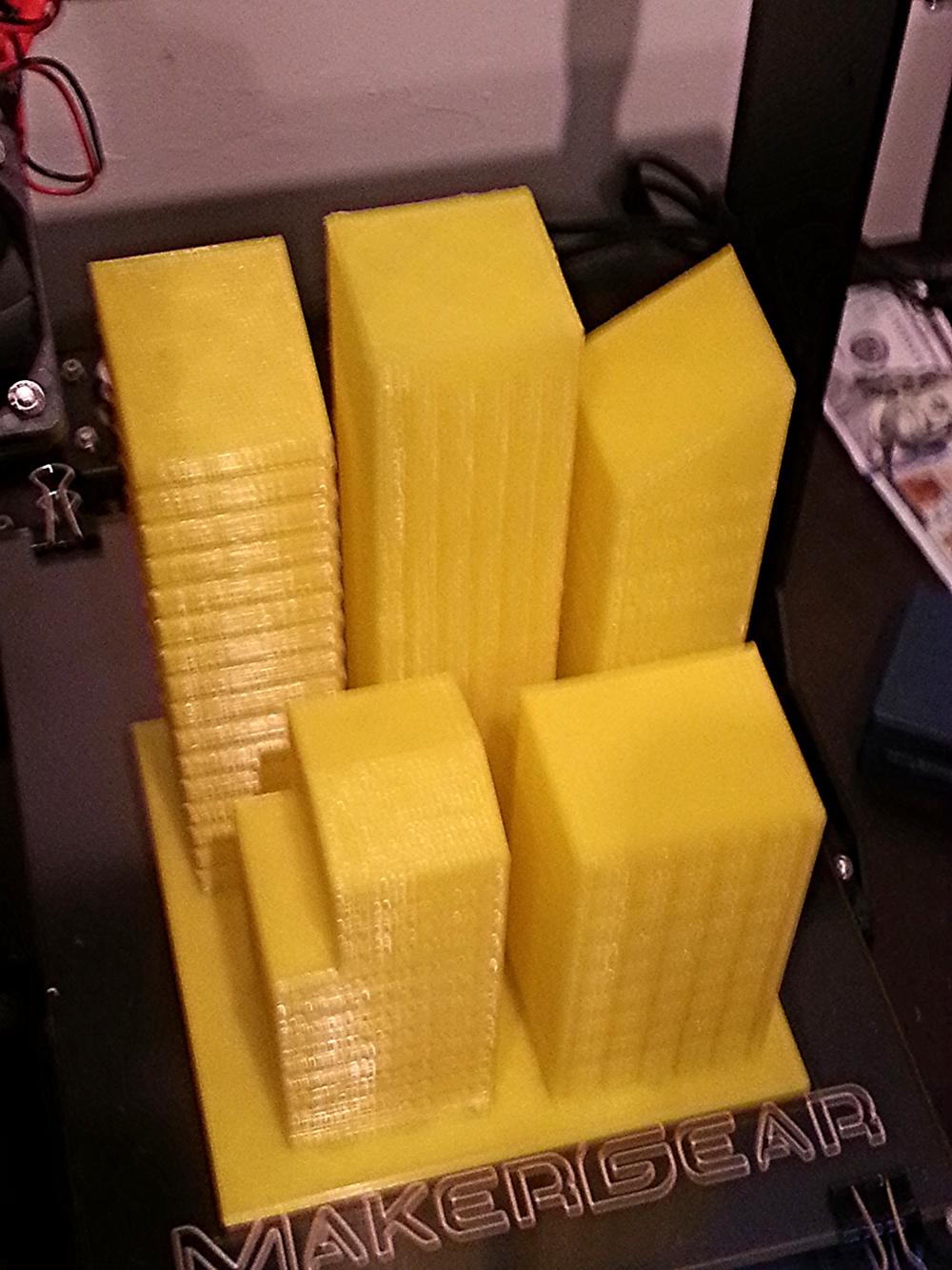 Skyline 4 building model
