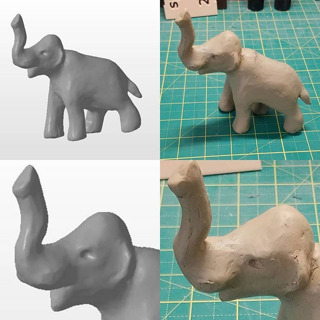 Clay Wooly Mammoth sculpture #3Dscanning project for a local artist. #3p3d #chicago #3dscan #3dmodeling #einscanS #photogrammetry #structuredlight #desktopmanufacturing #technologyisawesome #technologythesedays #3dprinting #3dprinter