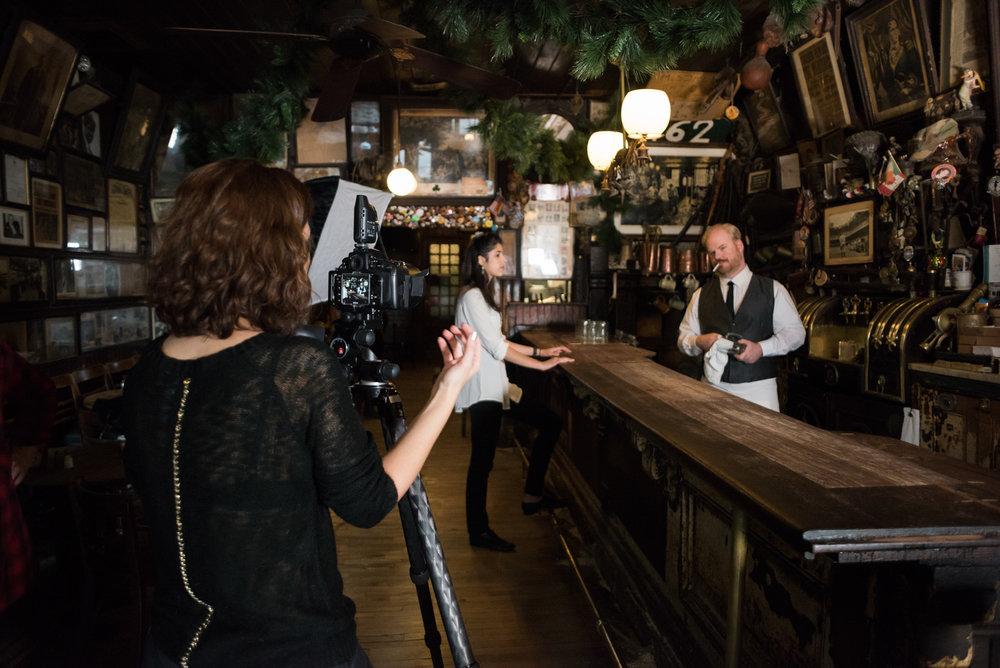 Scene 1- part 1: the Bartender