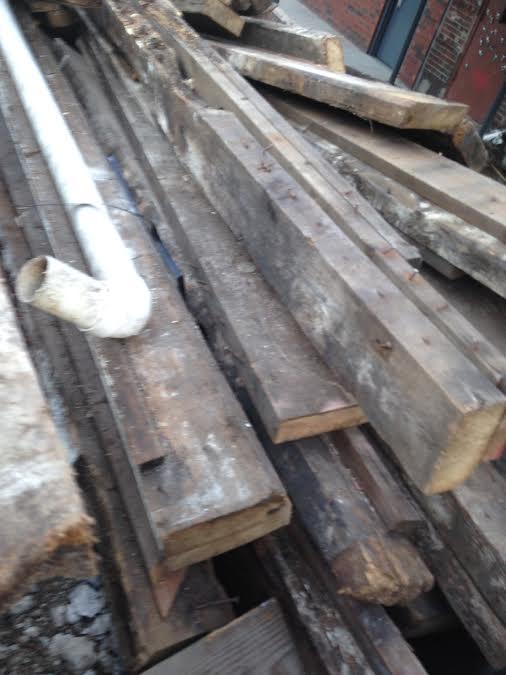 found lumber