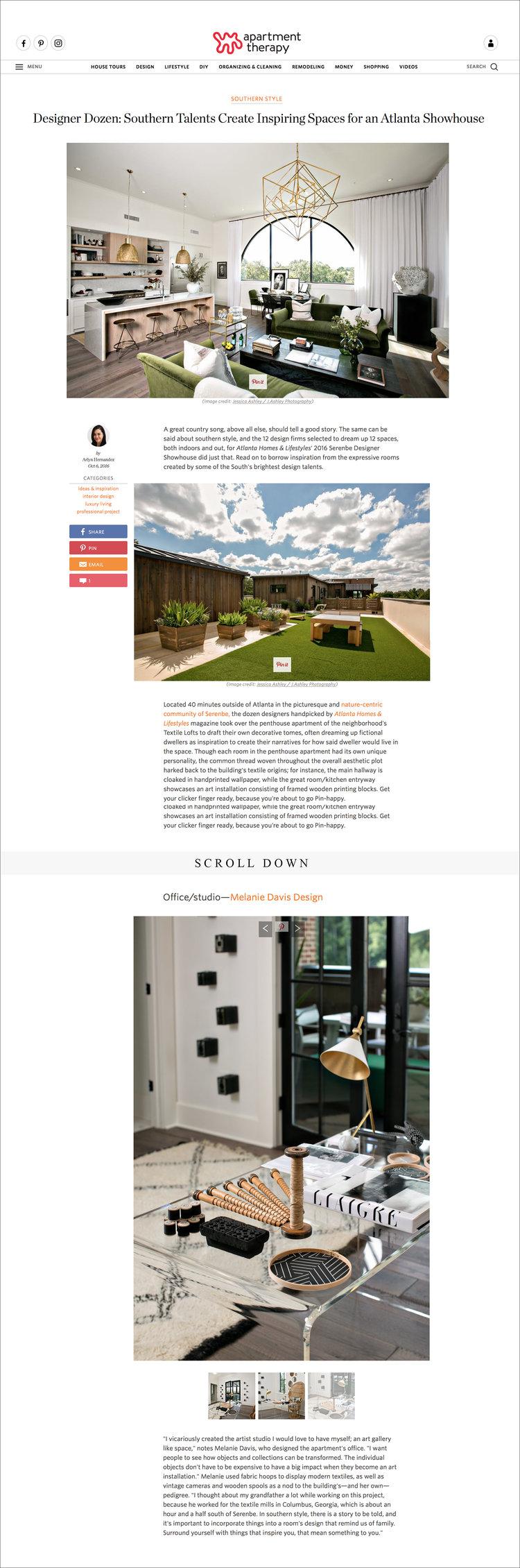 Melanie Davis Design Bracey Apartment Therapy Interior Sept16 NaturallyInspired Instagram R1