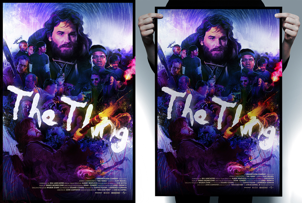 """Those prints come in size of 18 x 24"""" (numbered edition of 50) and 24x36"""" (numbered edition of 25), and will be available online on October 15th at myStore."""