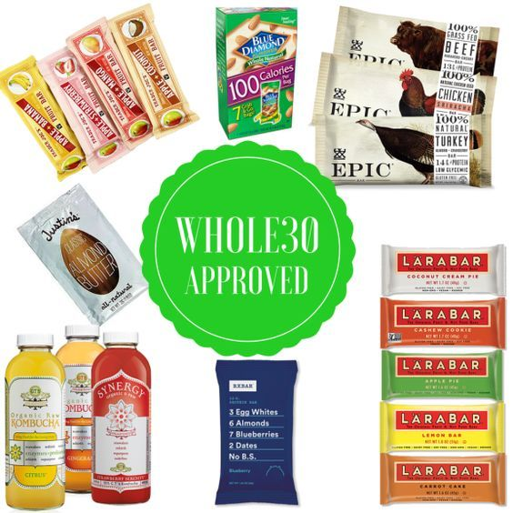 Pinterest has SO many great Whole30 approved snacks and recipes! Check it out!