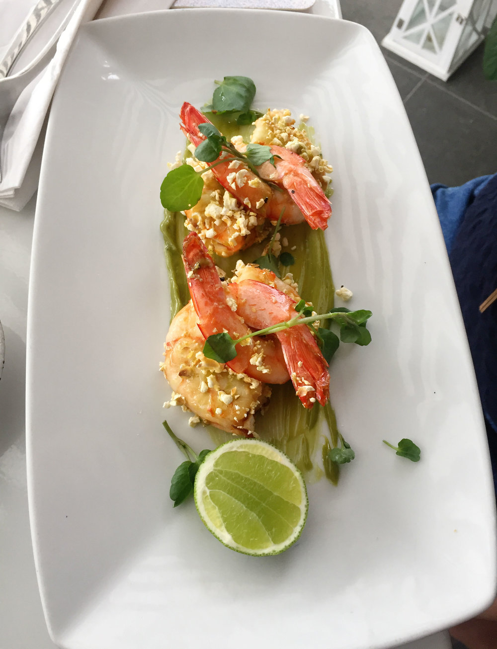 Riviera Bar and Lounge:  Popcorn Prawns
